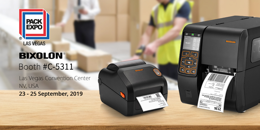 BIXOLON Showcases its Label Printing Innovations At PACK EXPO 2019