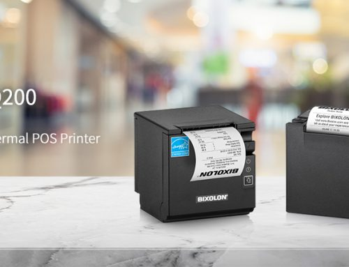 BIXOLON Launches SRP-Q200 Compact Cube Receipt Printer