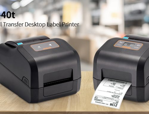 Introducing the BIXOLON XD5-40t Thermal Transfer Desktop Label Printer