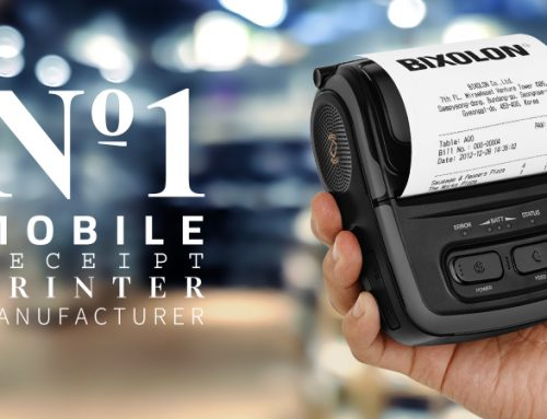 BIXOLON Ranked Global Leader in Mobile Receipt Printer Market – 7th Year
