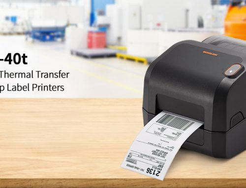 Introducing the BIXOLON XD3-40t Thermal Transfer Desktop Label Printers