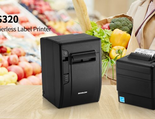 BIXOLON Launches the New SRP-S320 Linerless Label Printer
